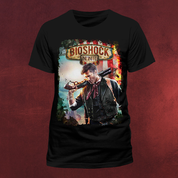 Bioshock Infinite - Booker T-Shirt