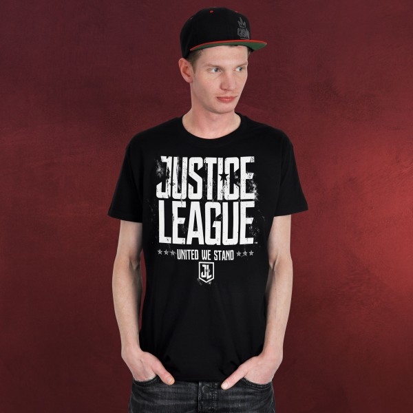 United We Stand T-Shirt - Justice League schwarz