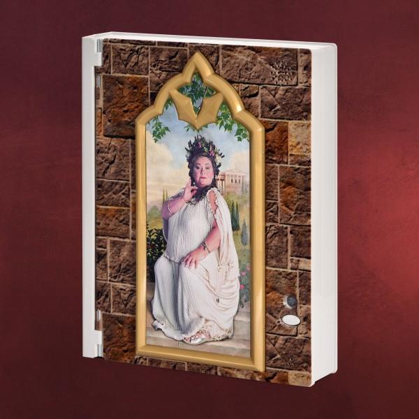 Harry Potter - Fette Dame Box mit Notizblock und Passwort