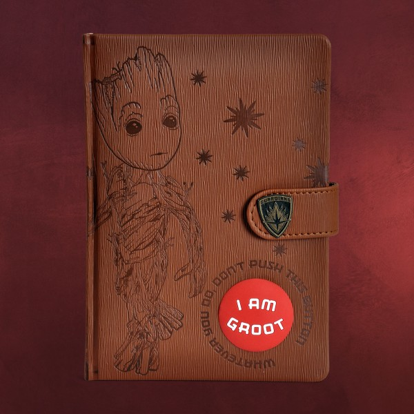 Guardians of the Galaxy - Groot Notizbuch mit Sound