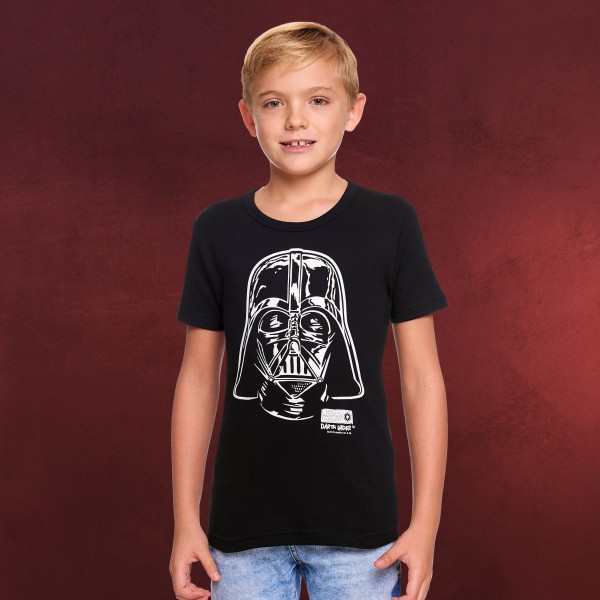 Star Wars - Darth Vader Portrait Kinder Shirt