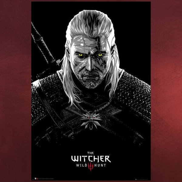 Witcher - Poisoned Geralt Maxi Poster