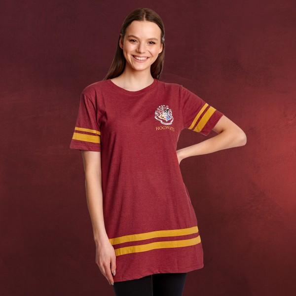 Harry Potter Gryffindor Sucher Oversize T-Shirt Damen rot