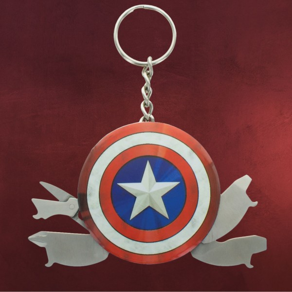 Captain America - Shield Logo Multi Tool