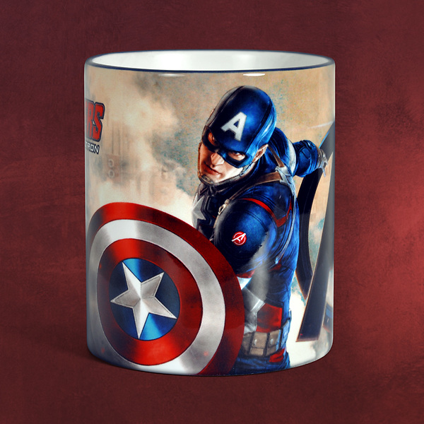 Avengers - Age of Ultron - Captain America Tasse