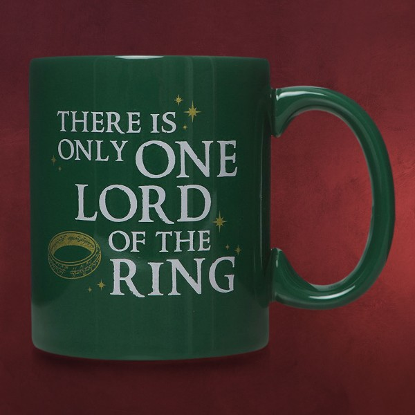 Herr der Ringe - Only One Lord of the Ring Tasse