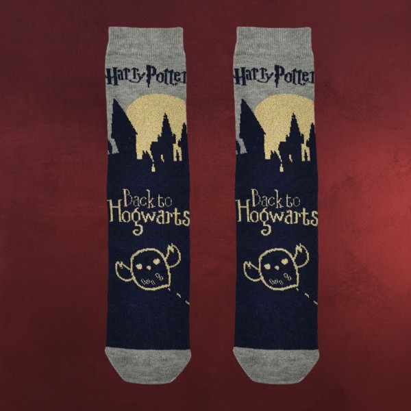 Harry Potter - Hogwarts School Glitzer Socken