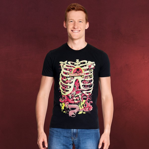 Rick and Morty - Anatomy Park T-Shirt schwarz