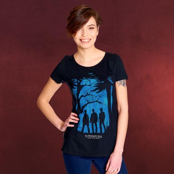Supernatural - Demon Hunters T-Shirt Damen schwarz