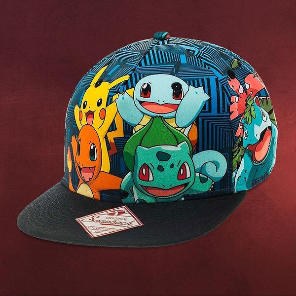 Pokemon - Characters Snapback Cap