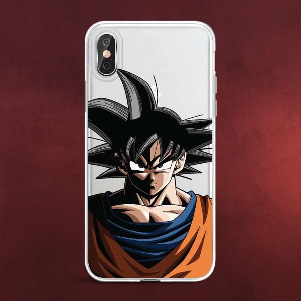 Dragon Ball Z - Goku iPhone X / XS Handyhülle Silikon transparent