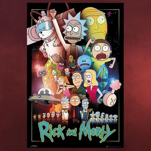 Rick and Morty - Wars Maxi Poster