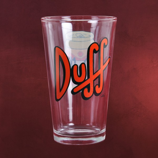 Simpsons - Duff Beer Glas