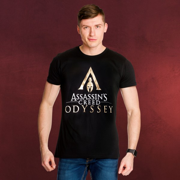 Assassins Creed - Odyssey Logo T-Shirt schwarz