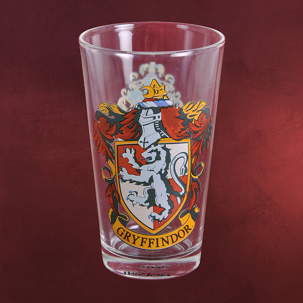 Harry Potter - Gryffindor Wappen Glas
