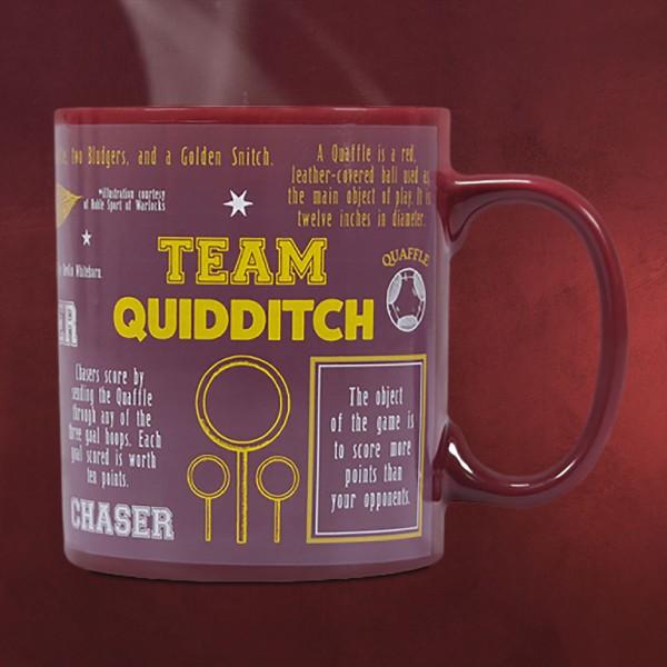 Harry Potter - Quidditch Team Thermoeffekt Tasse