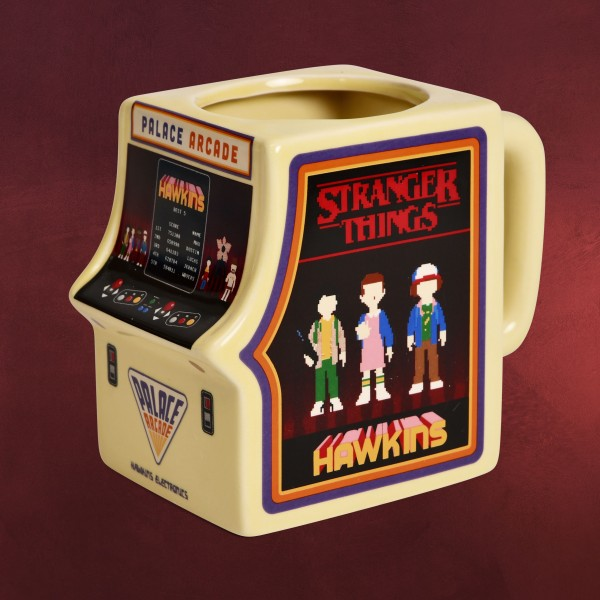 Stranger Things - Palace Arcade Machine 3D Tasse