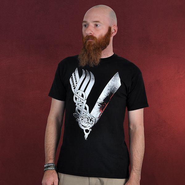 Vikings - Logo T-Shirt schwarz