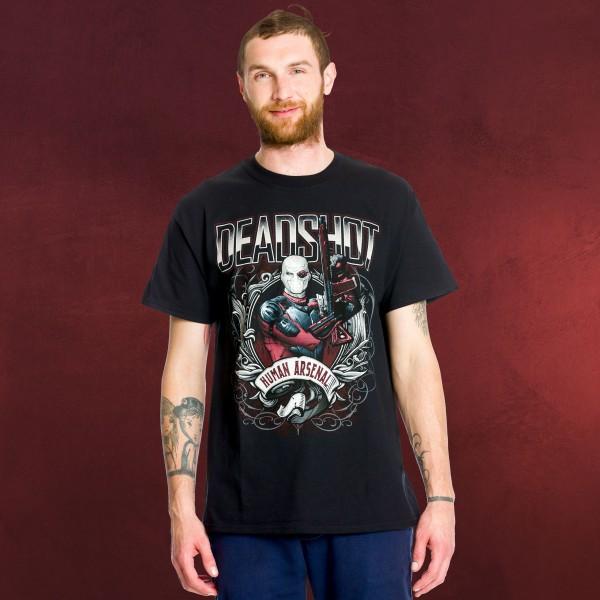 Suicide Squad - Deadshot Human Arsenal T-Shirt schwarz