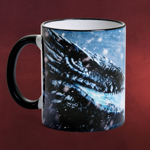 Ice Dragon Tasse blau