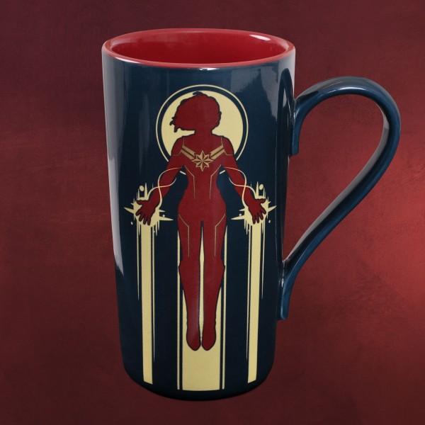 Captain Marvel - Rebellious Spirit Tasse XXL
