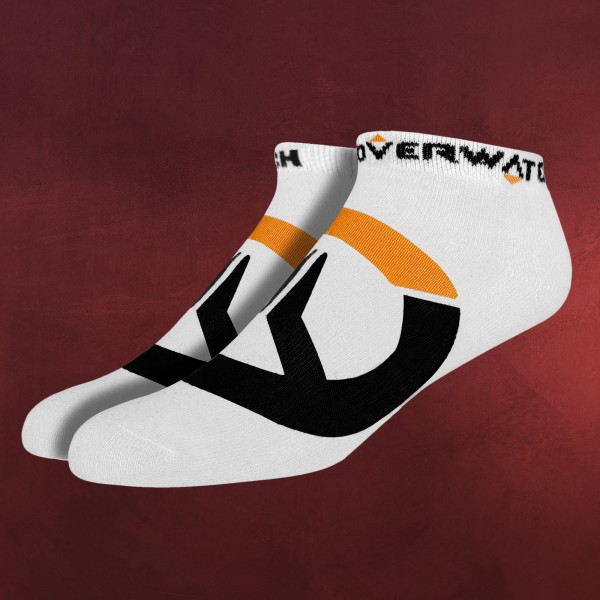 Overwatch - Logo Socken 3er Set weiß