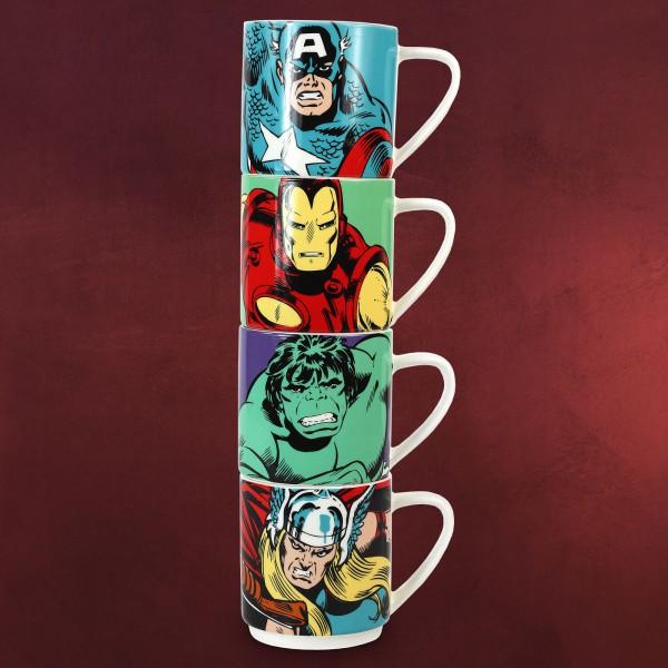 Avengers - Superhelden Tassenset