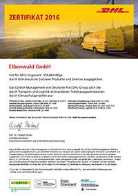 GoGreen Zertifikat