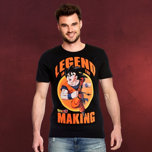 Dragon Ball Z - Legend in the Making T-Shirt schwarz