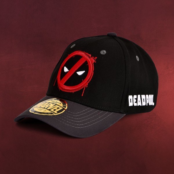 Deadpool - Keep Out Basecap schwarz