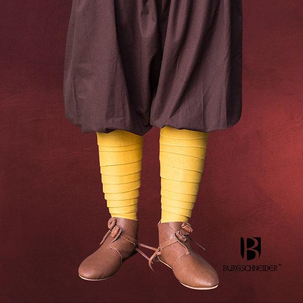 Mittelalter Wollwadenwickel Aki gelb
