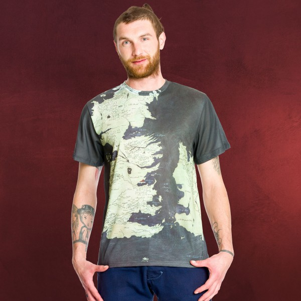 Game of Thrones - Westeros T-Shirt