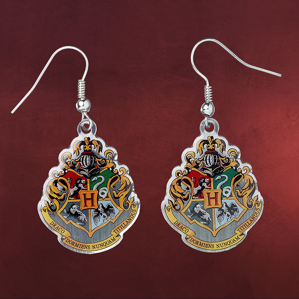 Harry Potter - Hogwarts Wappen Ohrringe