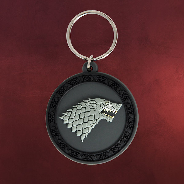 Game of Thrones - House Stark Schattenwolf Schlüsselanhänger