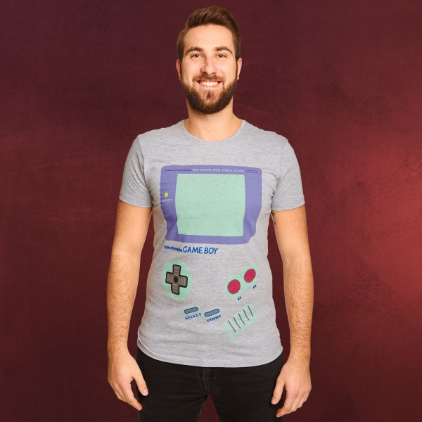 Nintendo - Game Boy T-Shirt grau