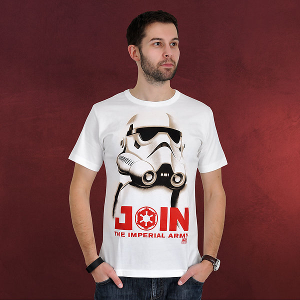 Star Wars - Stormtrooper Join T-Shirt creme