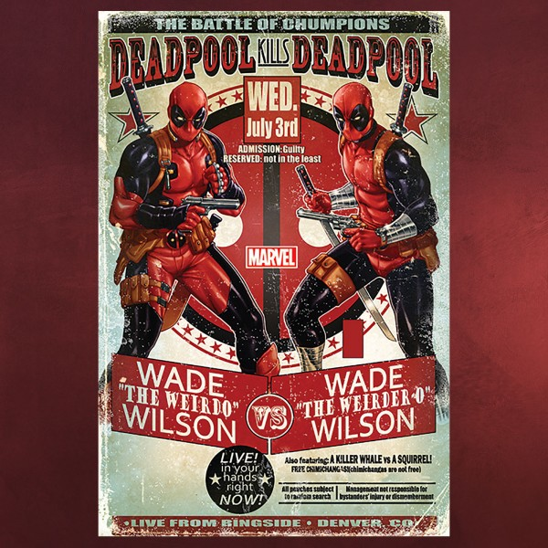 Deadpool Kills Deadpool Maxi Poster