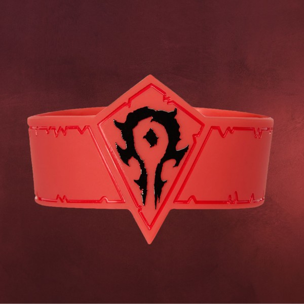 Warcraft - Horde Movie Armband