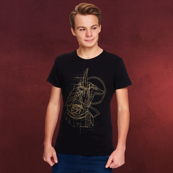 Assassins Creed - Anubis T-Shirt schwarz