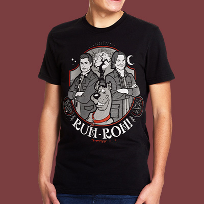 Supernatural - Scoobynatural Ruh-roh! T-Shirt schwarz