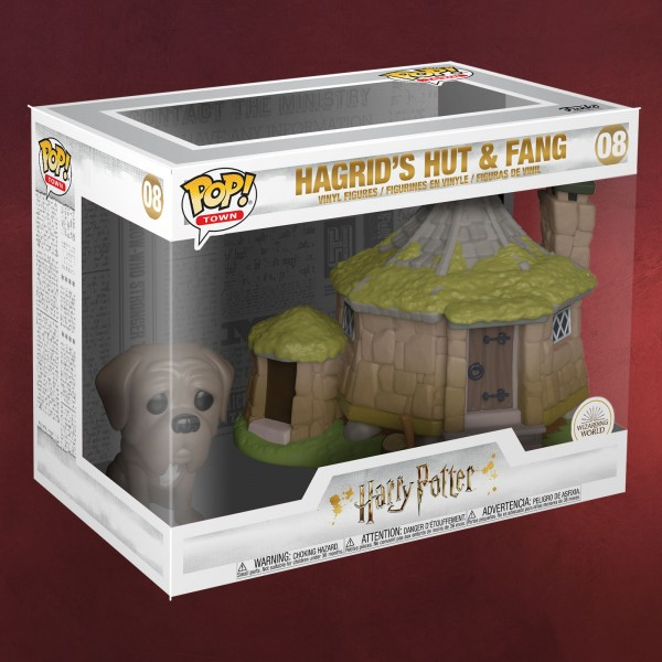 Harry Potter - Hagrids Hütte mit Fang Funko Pop Figuren Set