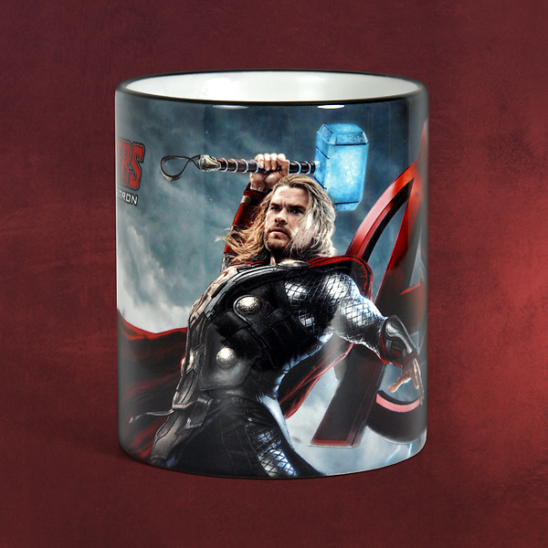 Avengers - Age of Ultron - Thor Tasse schwarz