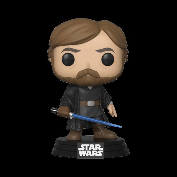 Star Wars - Luke mit Lichtschwert Funko Pop Wackelkopf-Figur