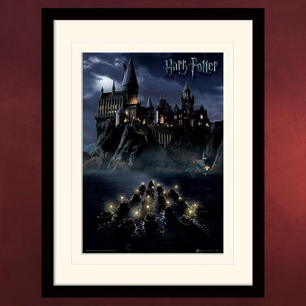 harry potter hogwarts wandbild elbenwald. Black Bedroom Furniture Sets. Home Design Ideas