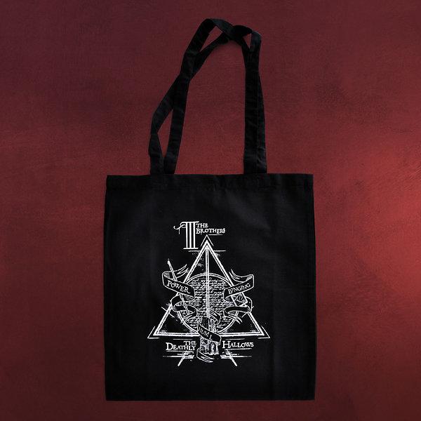 Harry Potter - Die Drei Brüder Jutebeutel