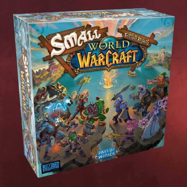 Small World of Warcraft - Kampf um Azeroth Brettspiel