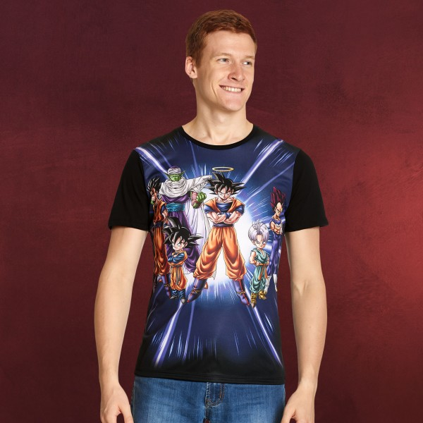 Dragon Ball - Characters T-Shirt schwarz