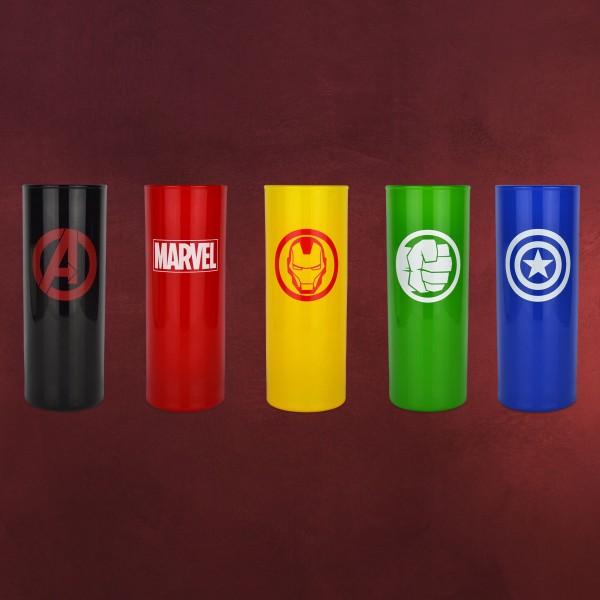 Marvel - Avengers Icons Gläserset 5-teilig