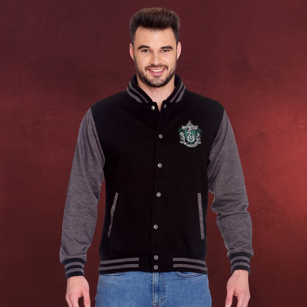 Harry Potter - Slytherin Wappen College Jacke