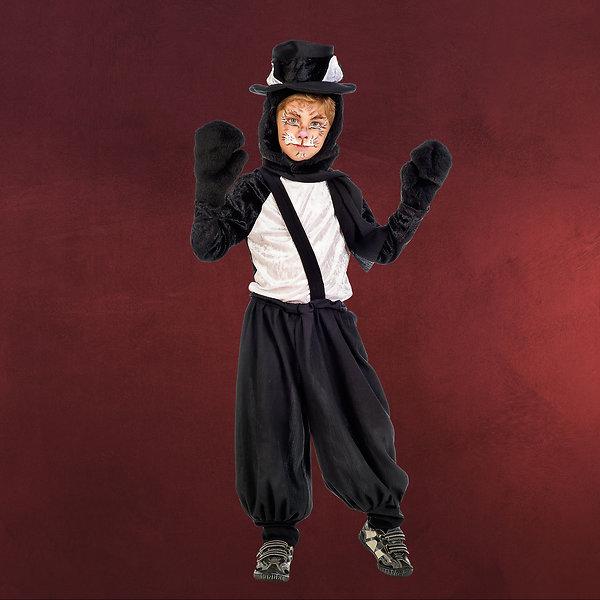 Schwarzer Kater - Kostüm Kinder